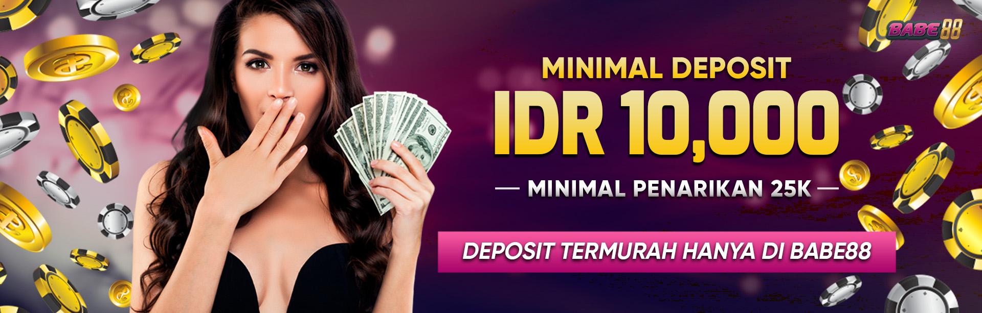 MINIMAL DEPO 10K